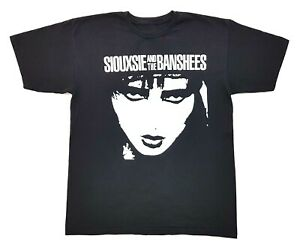 Siouxsie-And-The-Banshees-Tee-Black-Size-Large-Mens-T-Shirt-Rock