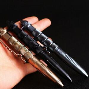 LED-Rechargeable-Multi-purpose-Tactical-Pen-Tungsten-Steel-Outdoor-Survival-Pen