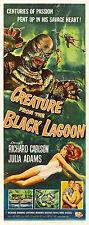 IL MOSTRO DELLA LAGUNA NERA CREATURE FROM BLACK LAGOON LOCANDINA CARLSON ADAMS