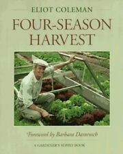Four-Season Harvest: How to Harvest Fresh Organic Vegetables from Your-ExLibrary
