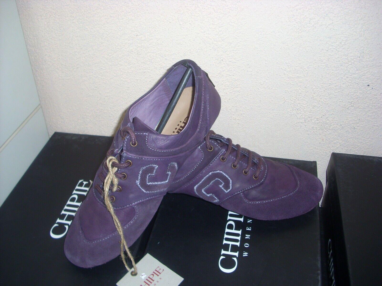 Chaussure mode femme CHIPIE neuve cuir bas prix pointure 36 RV