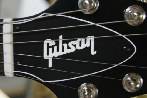 FLYING V TRUSS ROD COVER name plate for Gibson guitar Black // White
