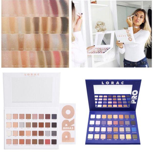 Pro Lorac Mega Eyeshadow Palette Eye Shadows Cosmetics Limited Edition Brand New