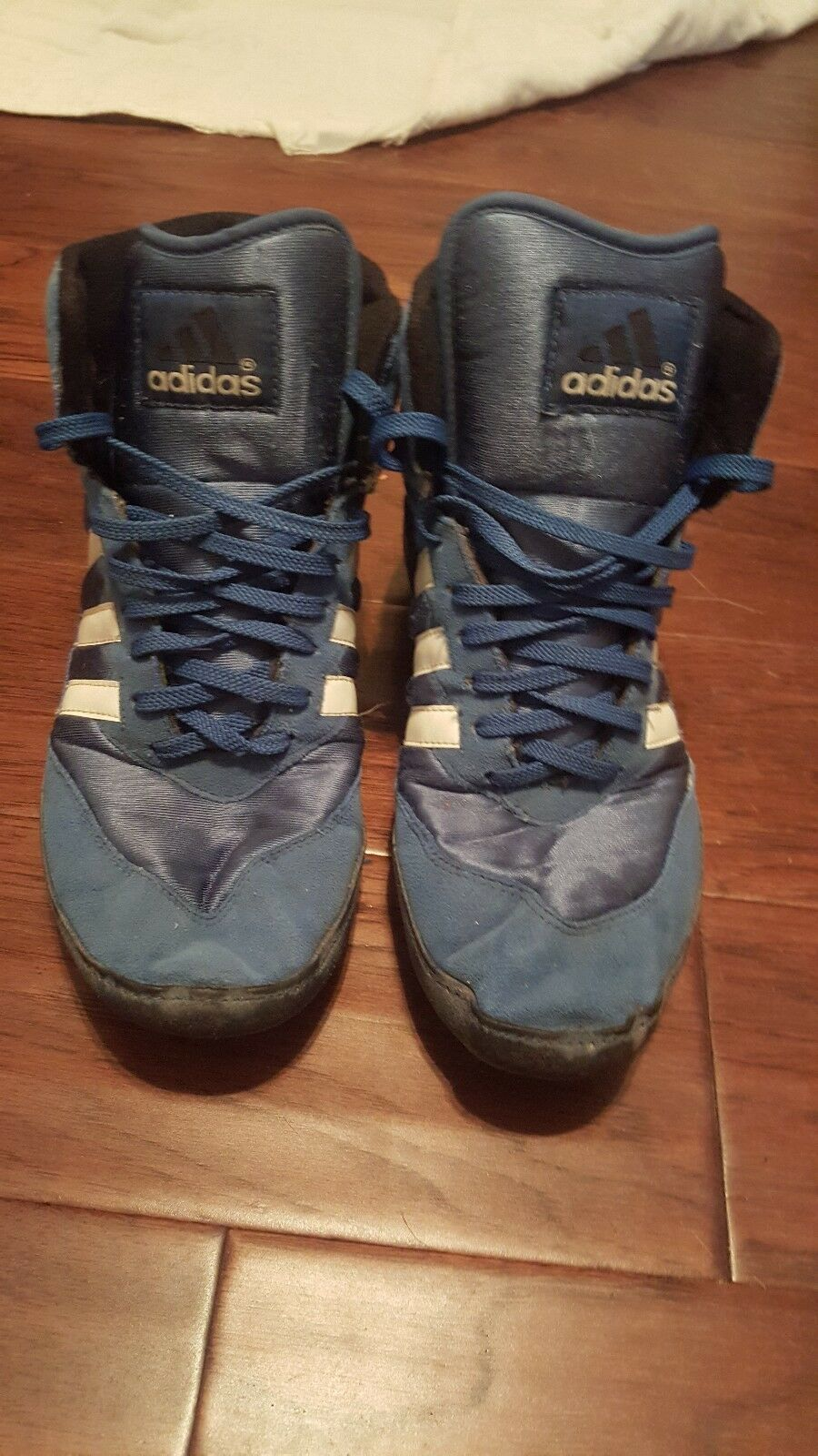 Adidas Absolute bluee Wrestling shoes Size 10 1995 great condition Vintage