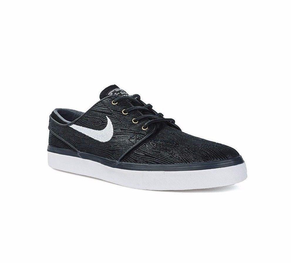 Nike ZOOM STEFAN JANOSKI PR SE Black White Discounted (457) Men's Shoes
