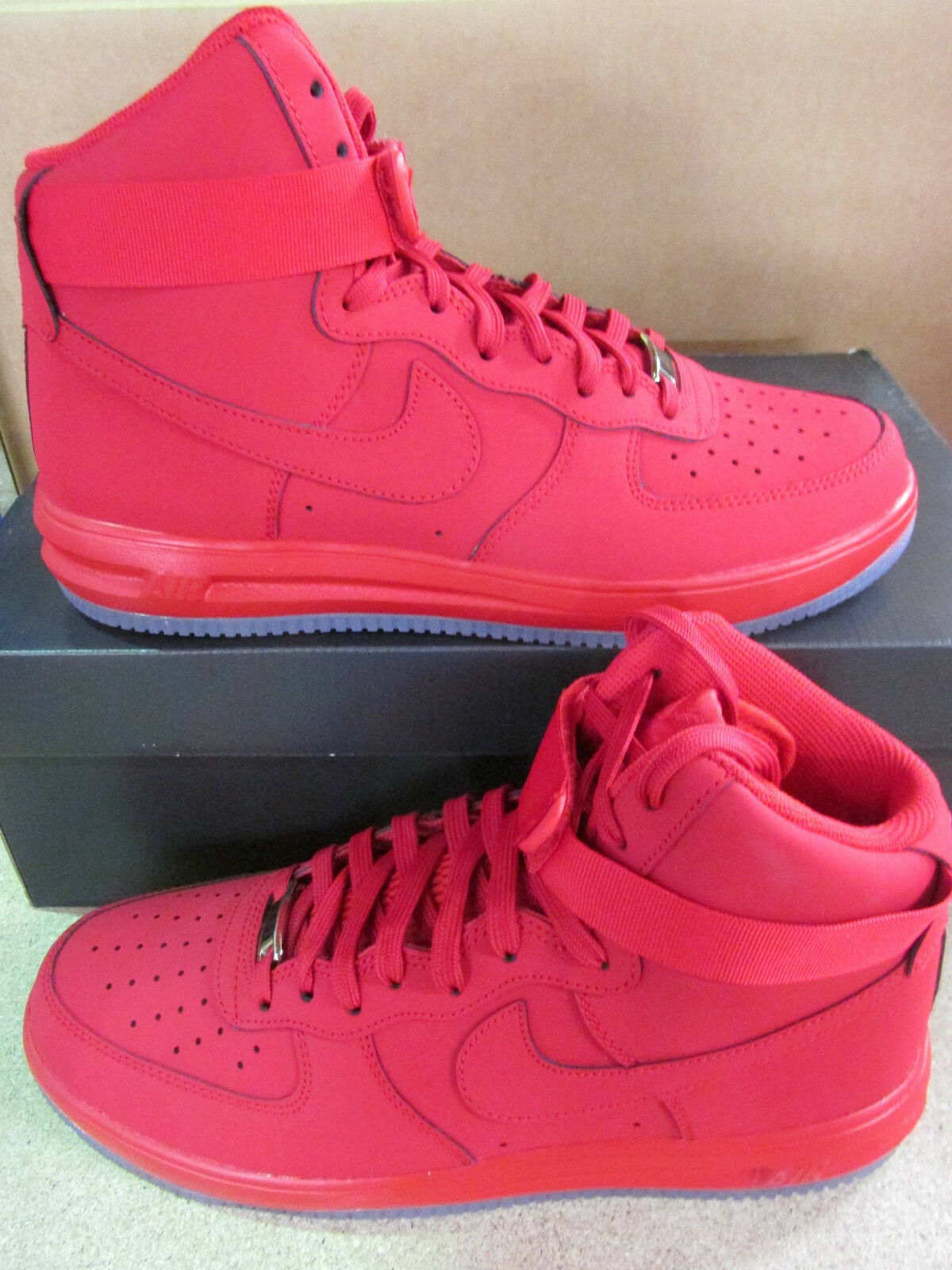 Nike lunar force 1 HI 14 mens hi top trainers 705436 600 sneakers shoes