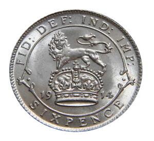 George-V-selectionne-sixpences-GVF-a-UNC-1911-1936