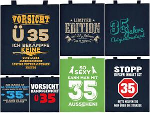 Geschenk 35.Geburtstag Geschenkverpackung 35 Jahre Sprüche