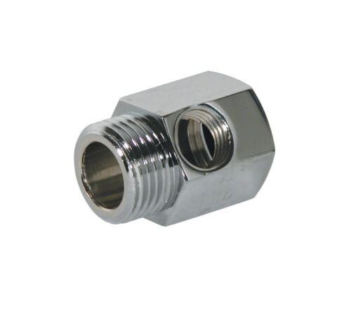 """3//4/"""" Wasseranschluss Adapter für Kühlschrank Wasserfilter mit Absperrhahn Ventil"""