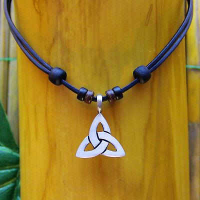 Lederkette Surferkette Halskette Herren Damen Surferhalskette Herrenkette Neu Noch Nicht VulgäR