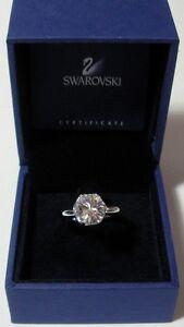 SWAROVSKI-SILVER-CRYSTAL-JEWELERY-034-HARLEQUIN-RING-RHS-SIZE-58-034-M-I-B-1030974