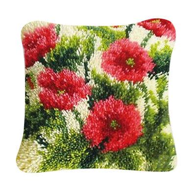 Woman Men Diy Fl Pillow Cushion