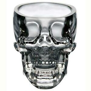Crystal Vodka Whiskey Shot Skull 73ml Head Glass Cup Drinking Ware Home Bar MT