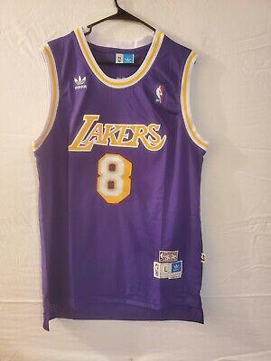 Kobe Bryant #8 Los Angeles Lakers Jersey Purple Swingman Size ...