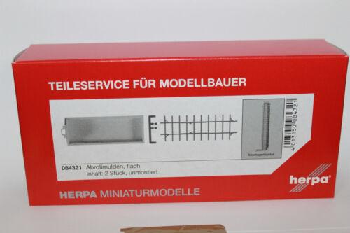 HERPA 084321 abrollmulden plat 1:87 h0 NEUF dans emballage d/'origine