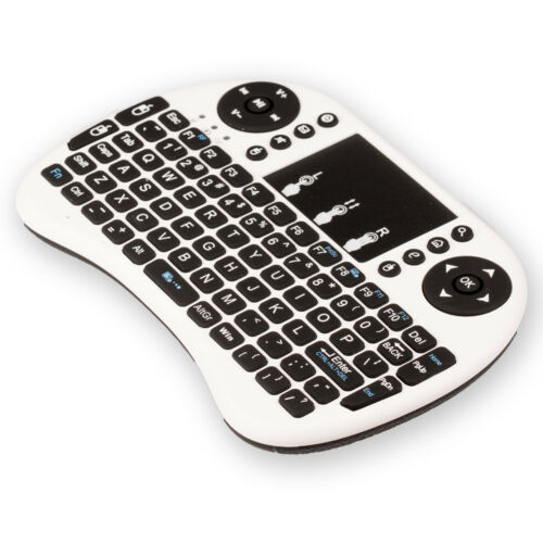 """Rechargeable Mini 2.4Ghz Wireless Keyboard""""Touchpad Remote for PC TV Android-RZY"""