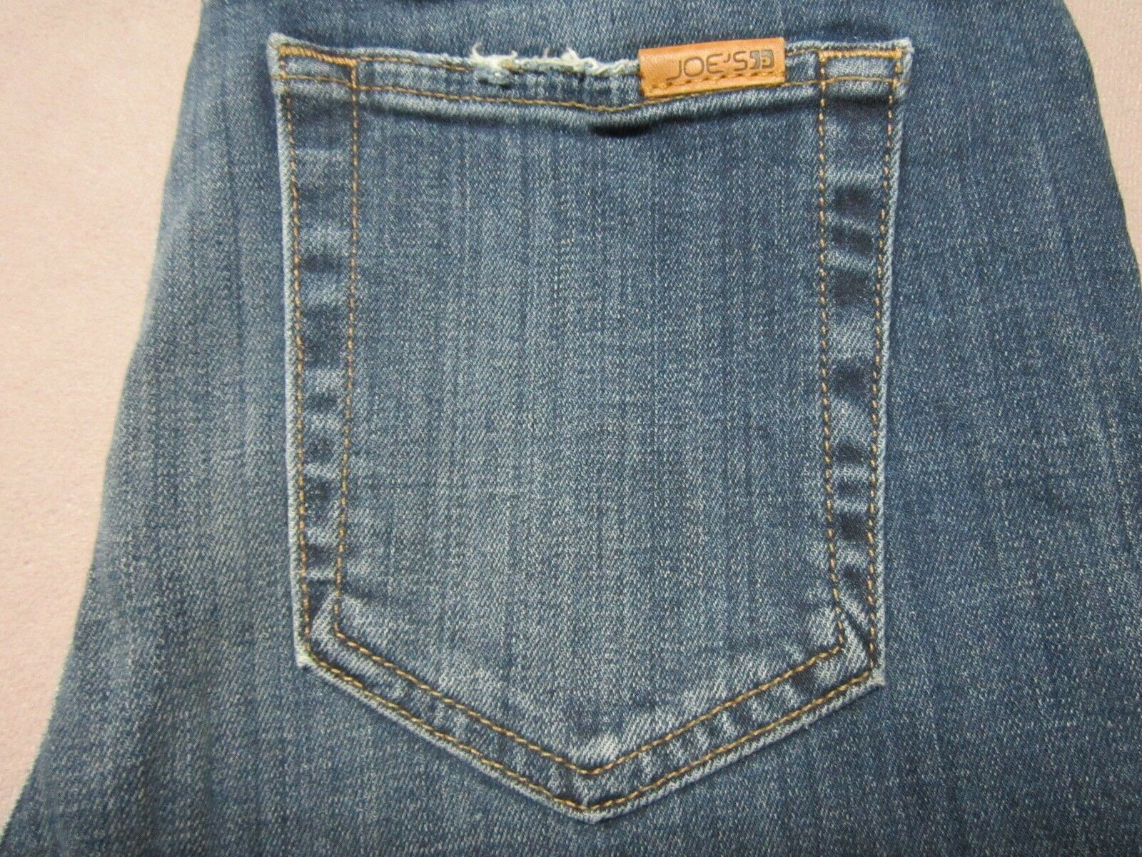 JOES JEANS WOMENS HIGH RISE SKINNY DESTROYED DISTRESSED blueE JEANS SIZE 27 NEW