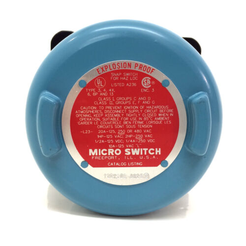 Interruptor de Límite de Rotary 12CX200-0625 Honeywell 12CX200 Nuevo *