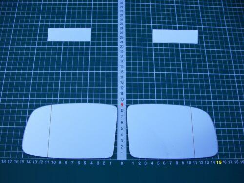 Rétroviseur Extérieur Miroir De Verre Ersatzglas PEUGEOT 605 à partir de 1989-1999 Li ou RE ASPH