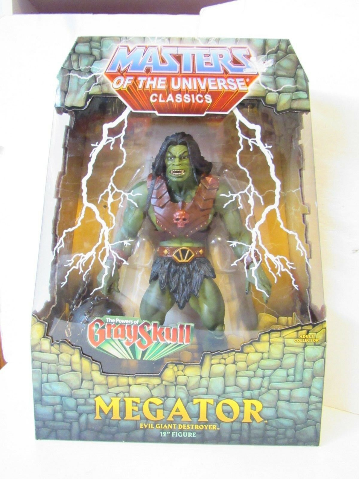 Masters Of The Universe Classics The Powers of grau Skull Megator 12