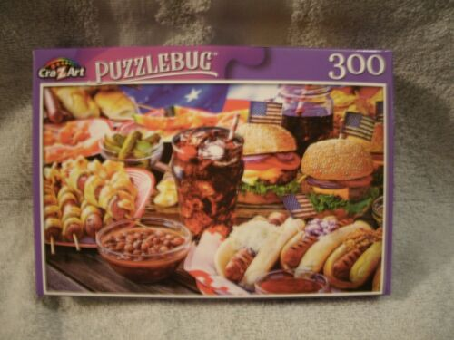 Burgers And Hot Dogs 300 Piece Puzzle