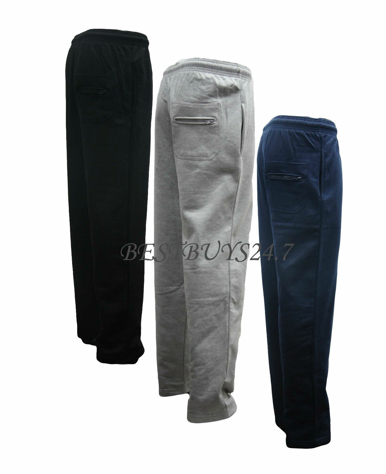 NEW MENS JOGGERS JOGGING TRACKSUIT BOTTOMS TROUSERS PANTS SIZE 2xl to 8xl