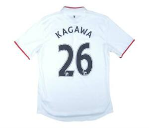 Manchester United 2012-14 ORIGINALE AWAY SHIRT Kagawa #26 (eccellente) M