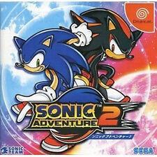 Sonic Adventure 2 Sega Dreamcast DC Import Japan