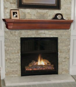 Image Is Loading Pearl Mantel Lindon Mission Fireplace Or Tv
