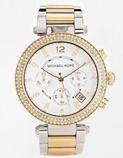 Michael Kors MK5626 Chronograph Parker Two Tone Stainless Steel Bracelet Watch