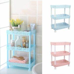 3-Tier-Plastic-Corner-Shower-Shelf-Bathroom-Storage-Organizer-Rack-Holder-New