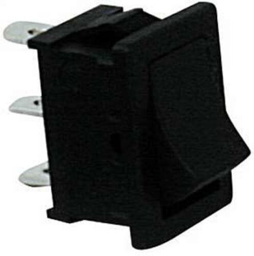 s1 RETTANGOLARE interruttore di montaggio MINI INTERRUTTORE oltre ad ascoltare tutte 19,3x13mm NERO on//off