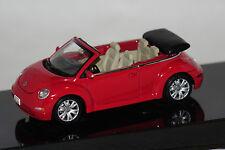 VW New Beetle Cabrio rot 1:43 AUTOart neu & OVP 59757