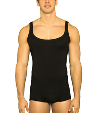 637465f8b896e4 item 2 Kefali Mens Bodysuit Leotard All in One Black Underwear Muscle Shirt  Tank Top -Kefali Mens Bodysuit Leotard All in One Black Underwear Muscle  Shirt ...