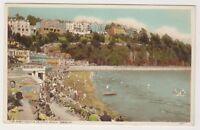 Devon postcard - Tor Abbey Sands & Bathing Beach, Torquay - P/U 1950