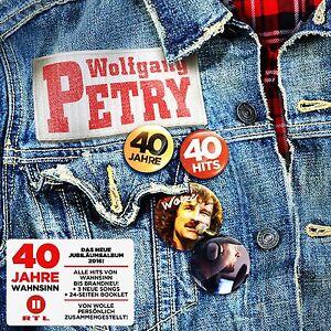 WOLFGANG-PETRY-40-JAHRE-40-HITS-2-CD-NEU