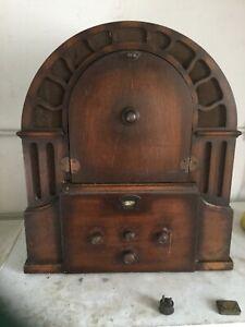 Micro-perophone-vintage-gramophone-Record-player-wireless-radio
