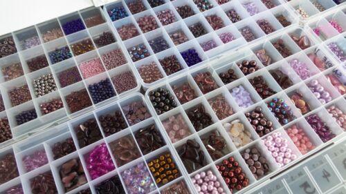PURPLE CZECH BEADS LOT BIGGEST Assortment Czech Glass Beads SALE Czech Republic