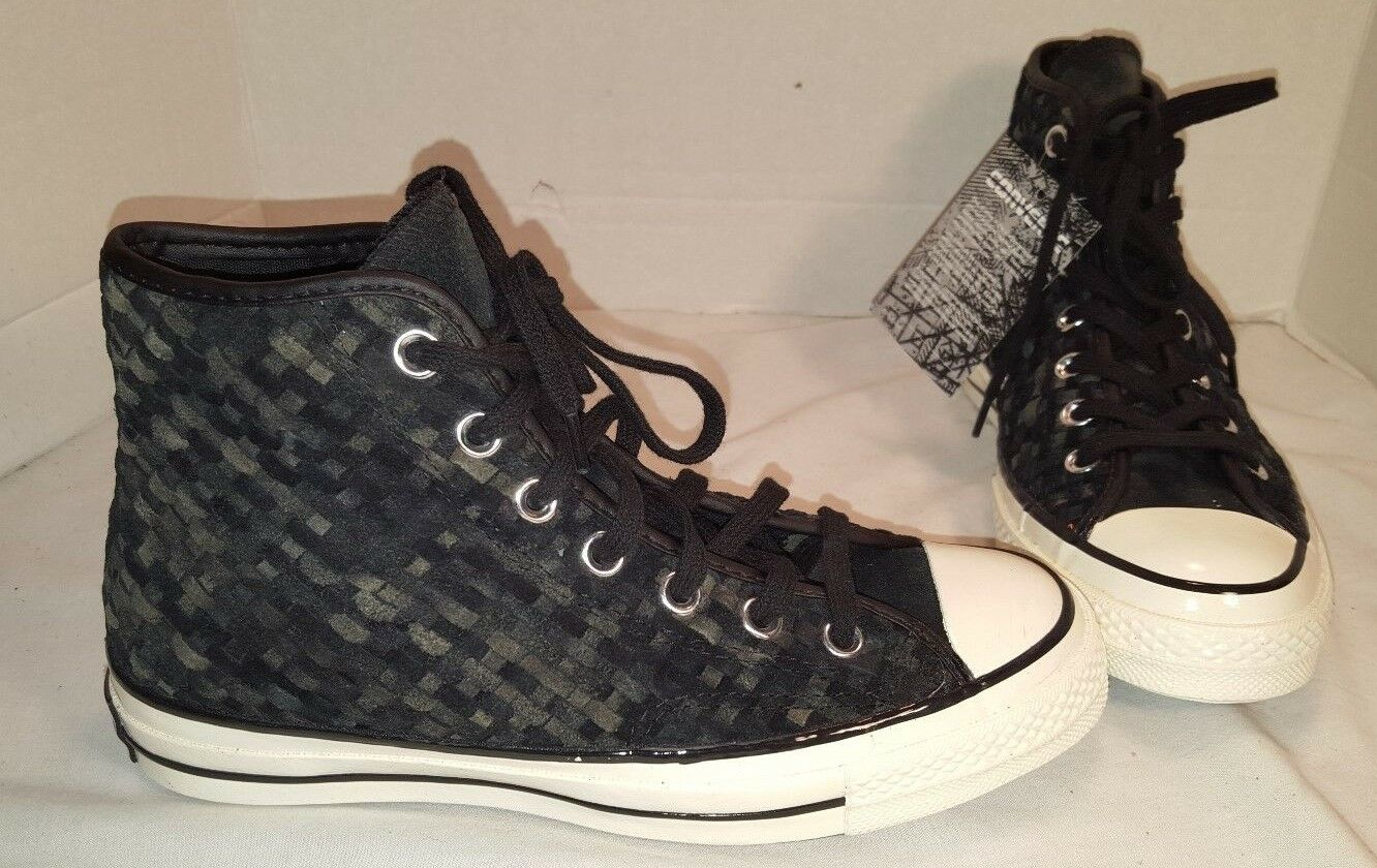 NEU CONVERSE CHUCK TAYLOR ALL STAR '70 WOVEN SUEDE HI SNEAKERS SIZE MEN 6 WO 8