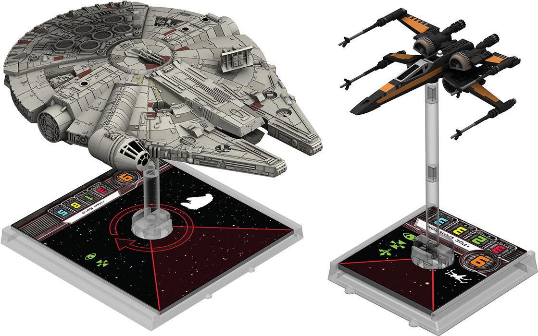 Star Wars X-Wing Eroi Della Resistenza Miniature Espansione
