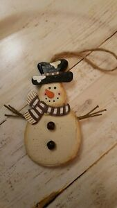 4-034-wooden-snowman-Christmas-ornament-OR