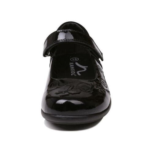 Girls Branded Kangol Hook And Loop Embroidery Ribston Shoes Footwear Size C10-2