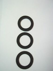 Carbone lisse Drag Washer Set Shimano Sustain 2500FG 3000FG 4000FG 5000FG