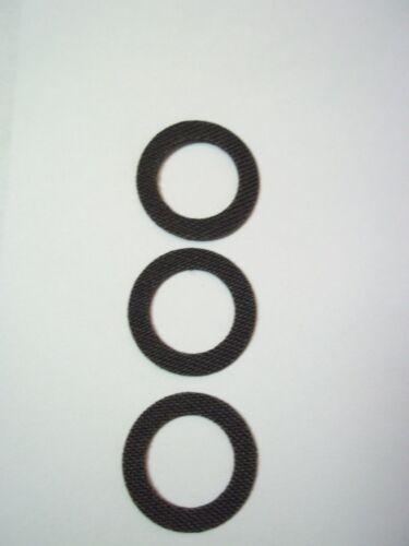 Carbon Smooth Drag washer set Shimano Sustain 2500FG 3000FG 4000FG 5000FG