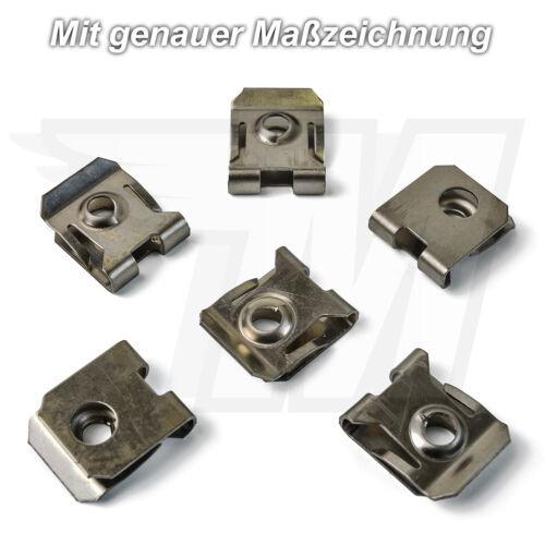 30x Metall Halteklammern Klemme Halterung für FordW715835-S300