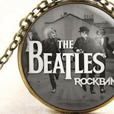 New The Beatles Rock Band, Necklace Cabochon Pendant, Unisex Gift Jewelry