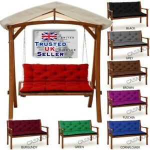 Amazing Details About Waterproof Replacement Cushion 1 4Seater For Garden Swing Bench Chair Seat Back Camellatalisay Diy Chair Ideas Camellatalisaycom