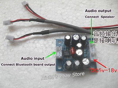 12V Noise Reduction Module BA3121 Noise Filter Board for Car Bluetooth Amplifier