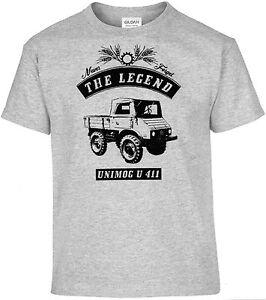 t shirt unimog u 411 traktor schlepper bulldog oldtimer ebay. Black Bedroom Furniture Sets. Home Design Ideas