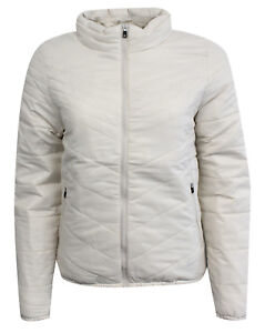 Térmico Nike 210 Abrigo M19 Acolchado Mujer 418566 Primaloft Cremallera Crema UU5Pr
